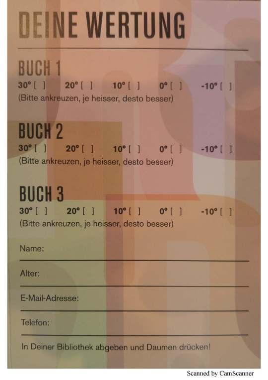 Wertungskarte